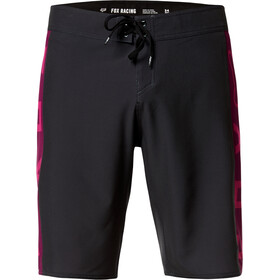 "Fox Tracks 21"" Stretch Boardshorts Heren, black"